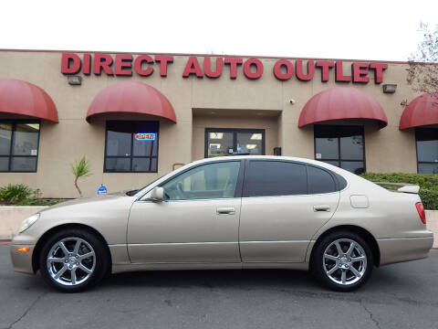 1998 Lexus GS 300 for sale at Direct Auto Outlet LLC in Fair Oaks CA