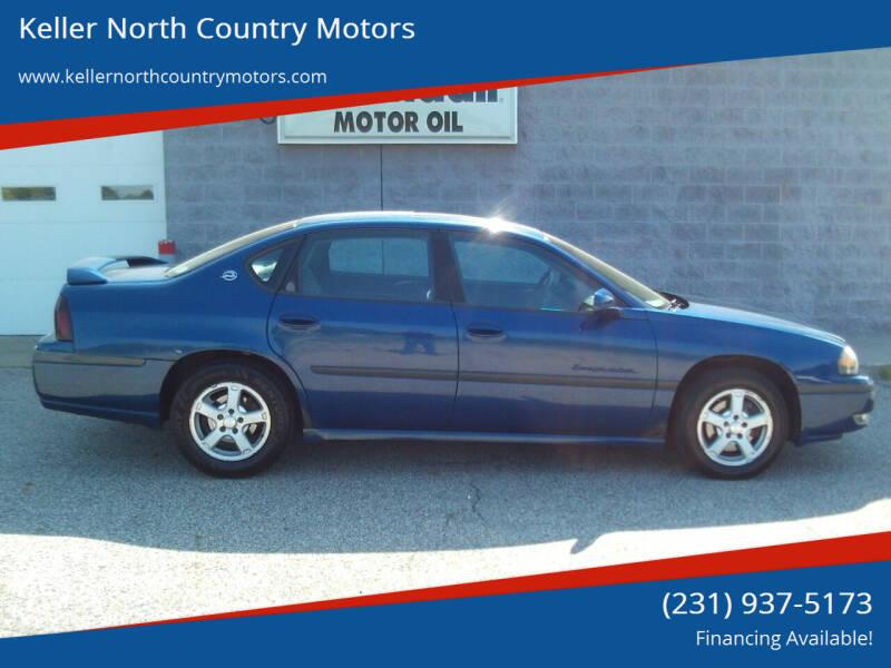2003 Chevrolet Impala for sale at Keller North Country Motors in Howard City MI