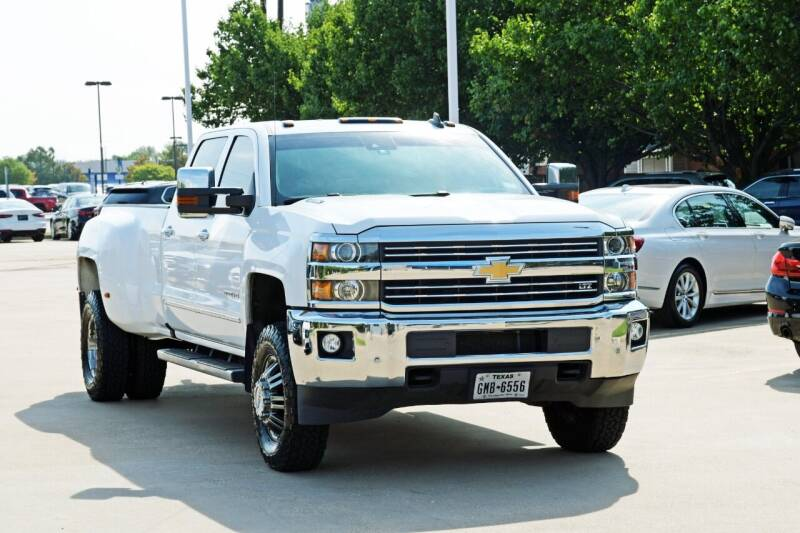 2016 Chevrolet Silverado 3500HD for sale at Silver Star Motorcars in Dallas TX