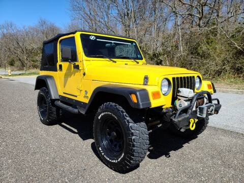 2000 Jeep Wrangler for sale at Premium Auto Outlet Inc in Sewell NJ