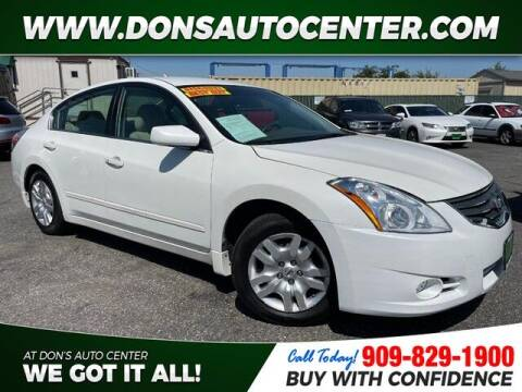 2012 Nissan Altima for sale at Dons Auto Center in Fontana CA