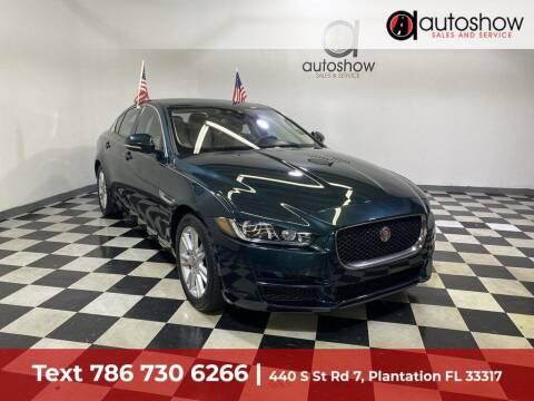 2017 Jaguar XE for sale at AUTOSHOW SALES & SERVICE in Plantation FL