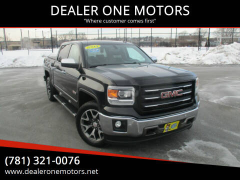 2014 GMC Sierra 1500 for sale at DEALER ONE MOTORS in Malden MA