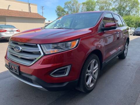 2017 Ford Edge for sale at MIDWEST CAR SEARCH in Fridley MN