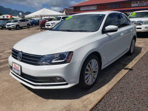 2016 Volkswagen Jetta for sale at Ohana Motors in Lihue HI
