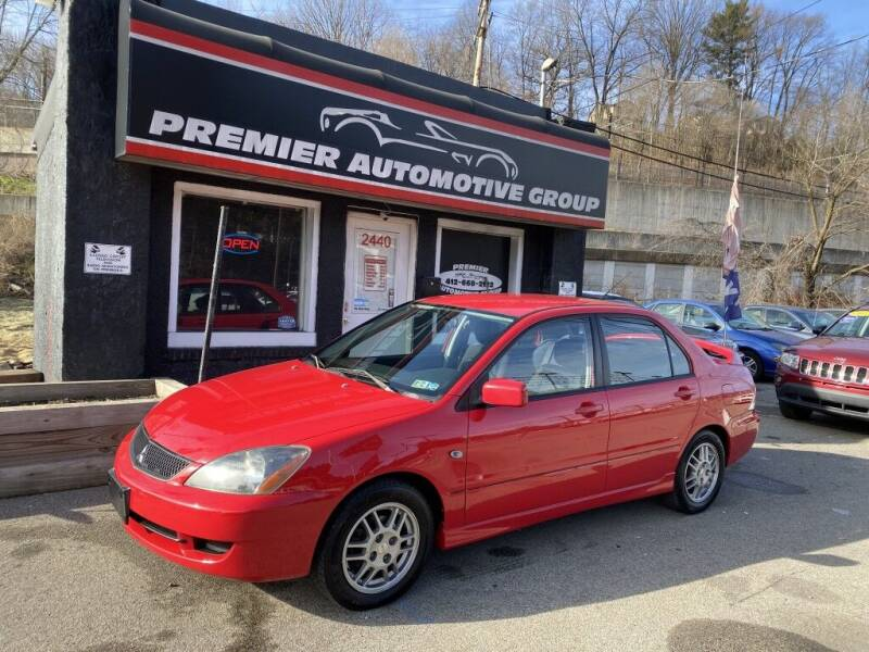 2006 Mitsubishi Lancer for sale at Premier Automotive Group in Pittsburgh PA