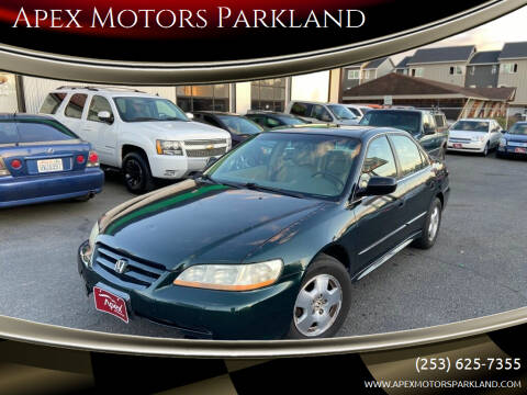 2001 Honda Accord for sale at Apex Motors Parkland in Tacoma WA