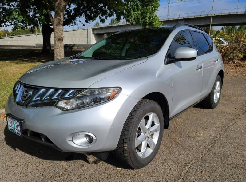 2009 Nissan Murano for sale at EXECUTIVE AUTOSPORT in Portland OR