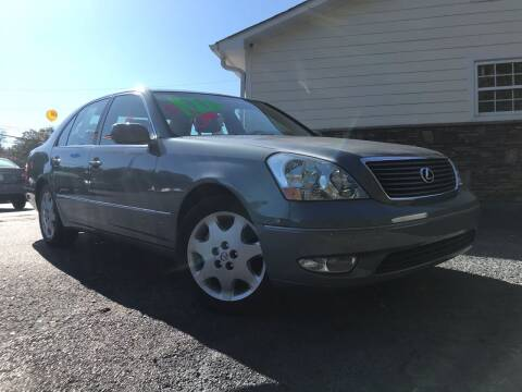 2003 Lexus LS 430 for sale at No Full Coverage Auto Sales in Austell GA