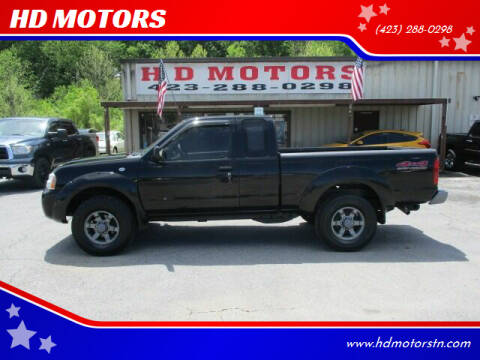 2004 Nissan Frontier for sale at HD MOTORS in Kingsport TN