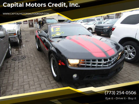 2012 Chevrolet Camaro for sale at Capital Motors Credit, Inc. in Chicago IL