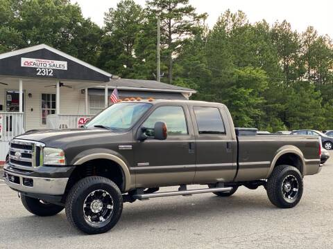 2006 Ford F-350 Super Duty for sale at CVC AUTO SALES in Durham NC