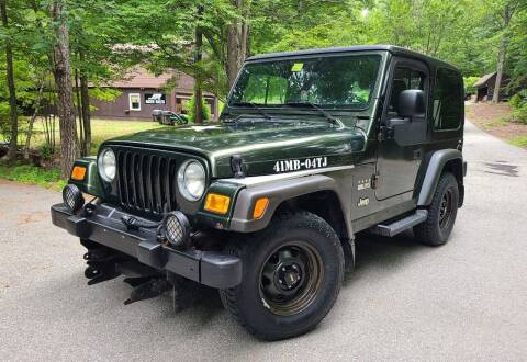 2004 Jeep Wrangler for sale at JR AUTO SALES in Candia NH