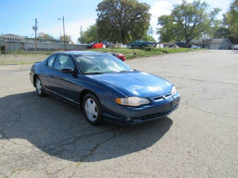 2003 Chevrolet Monte Carlo for sale at Perfection Auto Detailing & Wheels in Bloomington IL