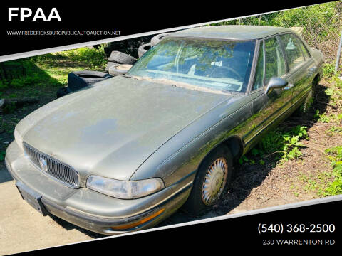 1997 Buick LeSabre for sale at FPAA in Fredericksburg VA