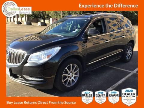 2014 Buick Enclave for sale at Dallas Auto Finance in Dallas TX