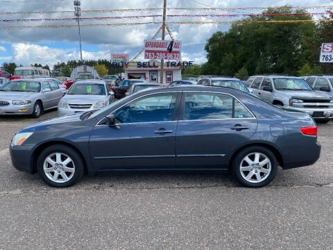 2005 Honda Accord for sale at Affordable 4 All Auto Sales in Elk River MN