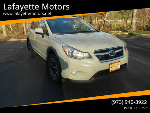 2014 Subaru XV Crosstrek for sale at Lafayette Motors 2 in Andover NJ