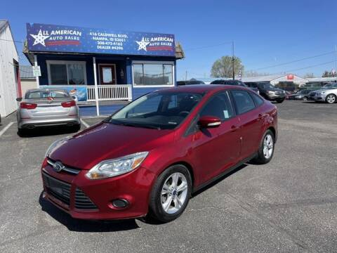 2013 Ford Focus for sale at All American Auto Sales LLC in Nampa ID