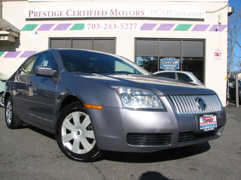 2007 Mercury Milan for sale at Prestige Certified Motors in Falls Church VA