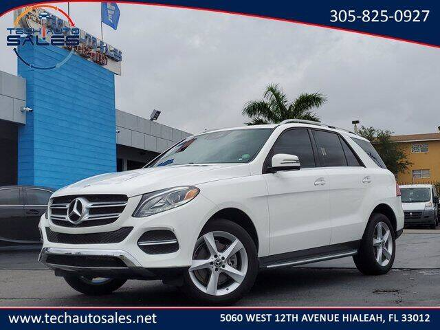 2018 Mercedes-Benz GLE for sale at Tech Auto Sales in Hialeah FL