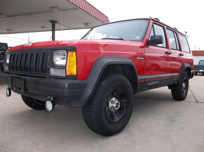 1996 Jeep Cherokee for sale at Broken Arrow Motor Co in Broken Arrow OK