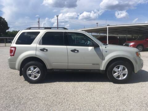 2008 Ford Escape for sale at Bostick's Auto & Truck Sales LLC in Brownwood TX