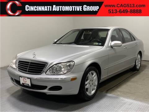 2006 Mercedes-Benz S-Class for sale at Cincinnati Automotive Group in Lebanon OH