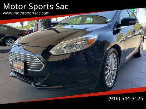 2013 Ford Focus for sale at Motor Sports Sac in Sacramento CA