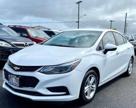 2016 Chevrolet Cruze for sale at PONO'S USED CARS in Hilo HI