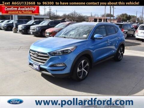 2016 Hyundai Tucson for sale at South Plains Autoplex by RANDY BUCHANAN in Lubbock TX