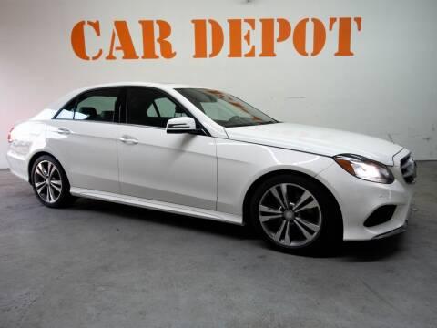 2016 Mercedes-Benz E-Class for sale at Car Depot in Miramar FL