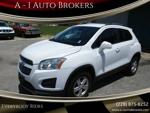 2016 Chevrolet Trax for sale at A - 1 Auto Brokers in Ocean Springs MS