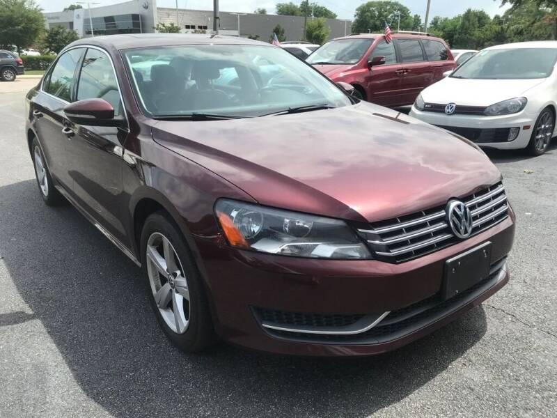 2012 Volkswagen Passat for sale at Dad's Auto Sales in Newport News VA