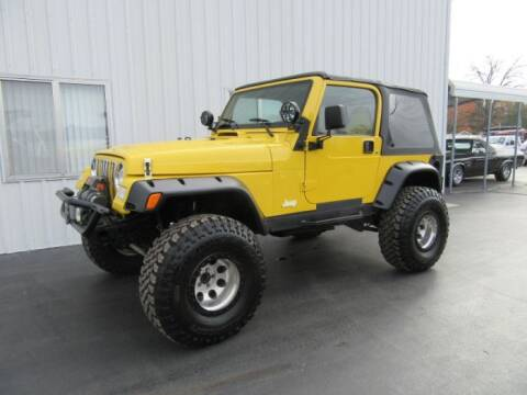2002 Jeep Wrangler for sale at Haggle Me Classics in Hobart IN