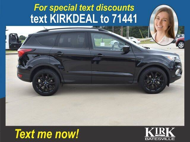 2019 Ford Escape for sale at Kirk Brothers Batesville in Batesville MS