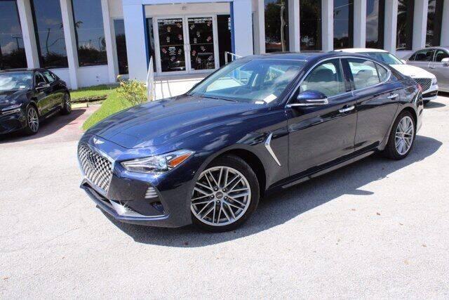 2021 Genesis G70 for sale in Miami, FL