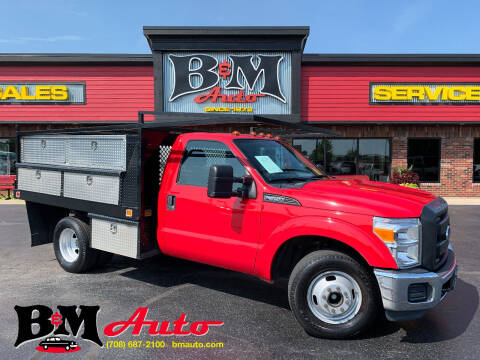 2012 Ford F-350 Super Duty for sale at B & M Auto Sales Inc. in Oak Forest IL