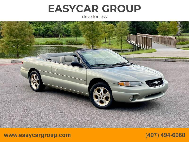 2000 Chrysler Sebring for sale at EASYCAR GROUP in Orlando FL