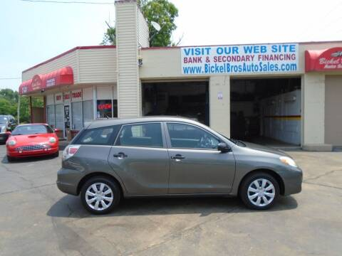 2005 Toyota Matrix for sale at Bickel Bros Auto Sales, Inc in Louisville KY