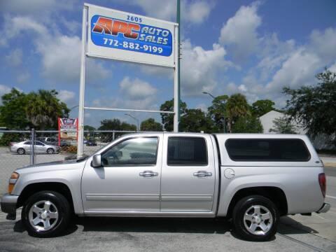 2011 Chevrolet Colorado for sale at APC Auto Sales in Fort Pierce FL