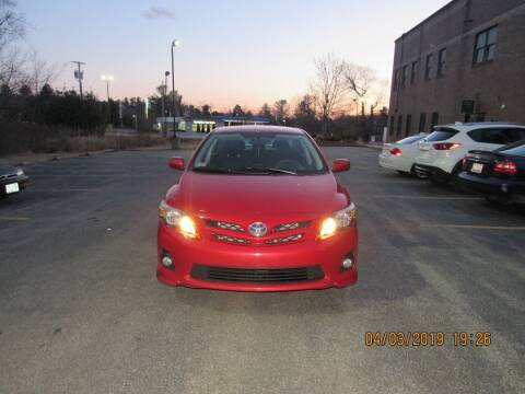 2013 Toyota Corolla for sale at Heritage Truck and Auto Inc. in Londonderry NH