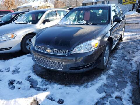 2012 Chevrolet Impala for sale at ASAP AUTO SALES in Muskegon MI