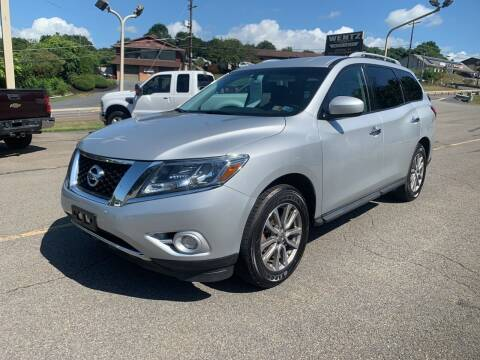 2015 Nissan Pathfinder for sale at WENTZ AUTO SALES in Lehighton PA
