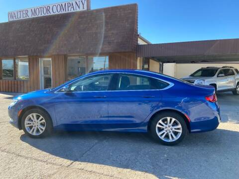 2015 Chrysler 200 for sale at Walter Motor Company in Norton KS