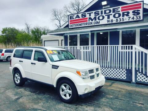 2008 Dodge Nitro for sale at EASTSIDE MOTORS in Tulsa OK