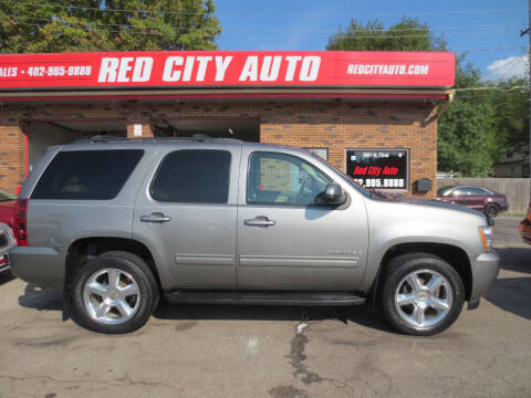 2009 Chevrolet Tahoe for sale at Red City  Auto in Omaha NE