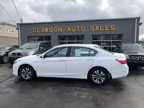 2013 Honda Accord for sale at Clawson Auto Sales in Clawson MI
