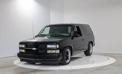 1997 Chevrolet Tahoe for sale at Mershon's World Of Cars Inc in Springfield OH