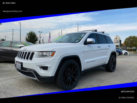 2014 Jeep Grand Cherokee for sale at JJ's Auto Sales in Salinas CA